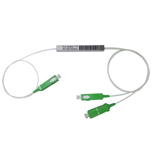 Optic fiber plc splitter